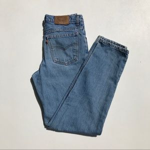 """LEVI'S 550 Wedgie Fit """" Student """" Jeans Size 27"""